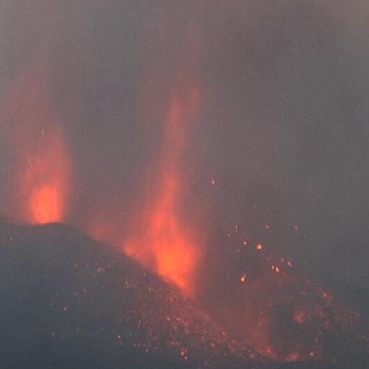 Cumbre Vieja Yanardağında hareketlilik sürüyor: Lavlar 434 hektarlık alana yayıldı