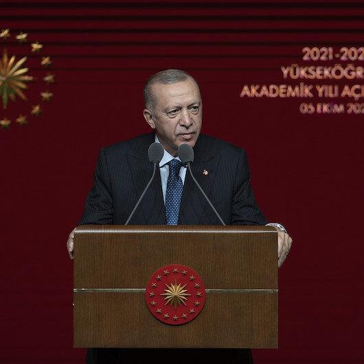 Cumhurbaşkanı Erdoğan: Gençlerin tekrar tekrar üniversite sınavına girmelerine gerek bırakmayacak bir sistem kurmalıyız