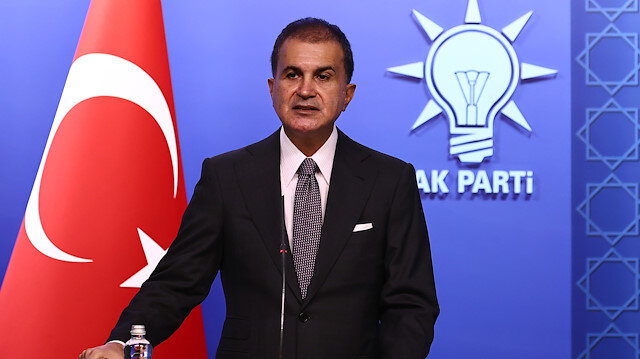 AK Parti Sözcüsü Ömer Çelik: Mavi Vatan kırmızı çizgimizdir