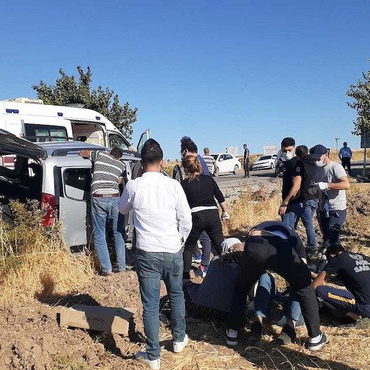 Taziyeye giden aile kaza yaptı: Bir kişi öldü 4 kişi yaralandı