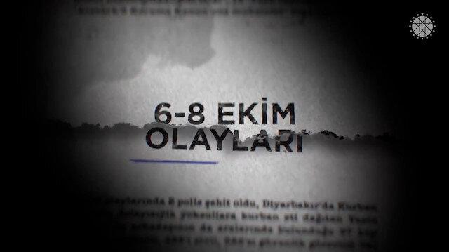 İletişim Başkanı Fahrettin Altun paylaştı: 6-8 Ekim olaylarında neler yaşanmıştı?