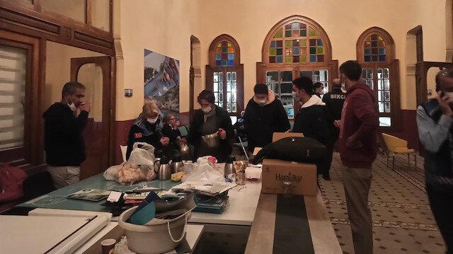 İBB ve CHP Adalar yönetimi TÜGVA'nın ofisini gasp etti