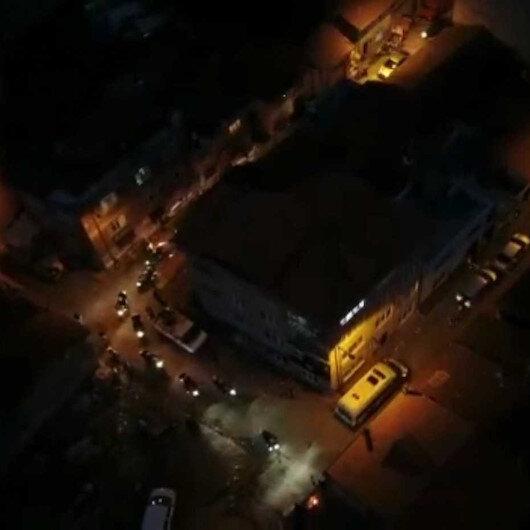 Bursada drone destekli uyuşturucu operasyonu