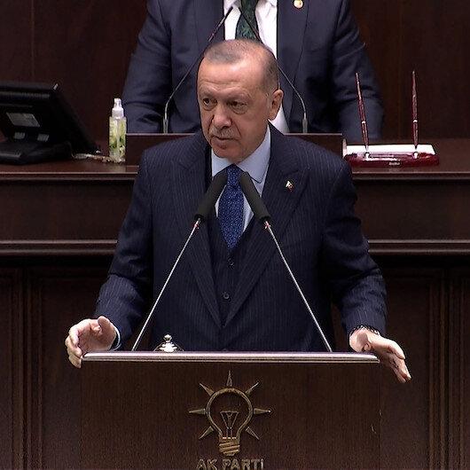 Cumhurbaşkanı Erdoğan sordu: İlk 4 maddeyi değiştirmek CHPnin mi Kılıçdaroğlunun mu fikri?