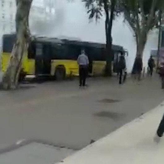 Fatih'te iki İETT otobüsü çarpıştı