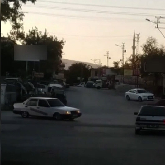 Konyada drift yapan sürücünün ehliyetine el konuldu