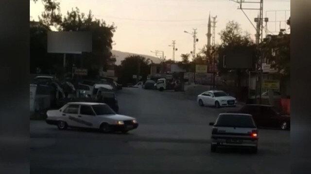 Konya'da drift yapan sürücünün ehliyetine el konuldu