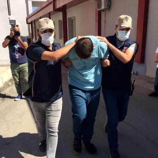 Adana'da 3 ayrı noktada orman yangını çıkartan terörist yakalandı