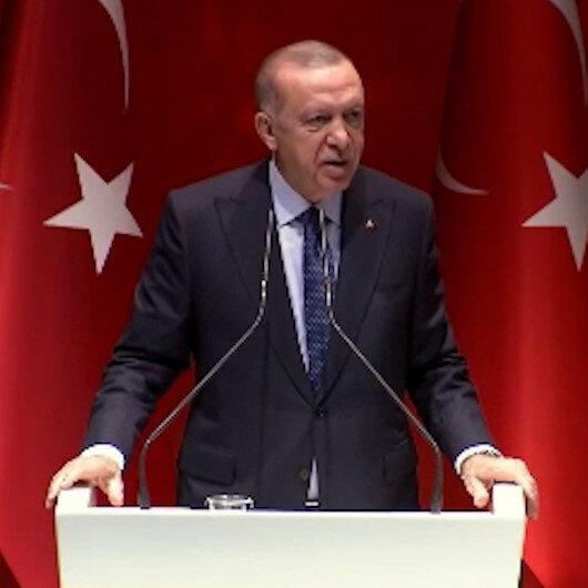 Cumhurbaşkanı Erdoğan: Bu ülke ve millet düşmanlarına hak ettikleri cevabı her platformda vereceğiz