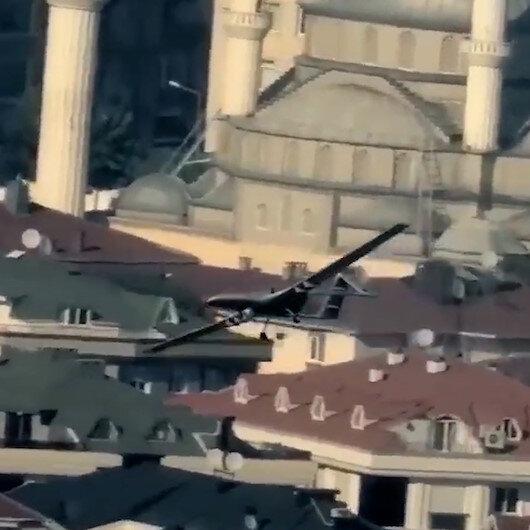 İstanbul kanatlarımın altında…