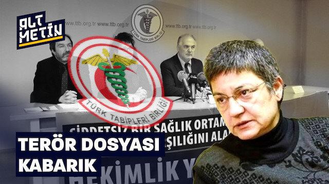 Türk Tabipleri Birliği'nin terör dosyası kabarık