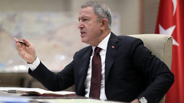 Bakan Akar'dan Yunanistan'a provokasyon tepkisi