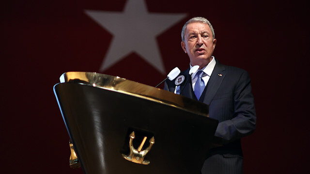 Hulusi Akar'dan Yunanistan'a provokasyon tepkisi: Yunanistan'da silahlanma sevdası başladı Türkiye'ye üstünlük sağlayamazsınız