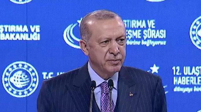 Cumhurbaşkanı Erdoğan: İstanbul Havalimanı Türkiye'nin büyük vizyonunun sembollerinden biridir