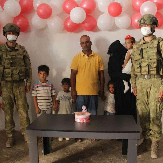 Mehmetçik küçük Pınar'ı unutmadı: Barış Pınarı Harekatının sembol ismi 2 yaşında