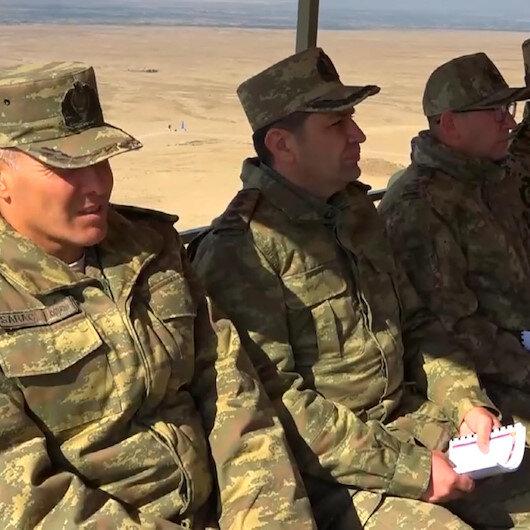 Türkiye ve Azerbaycan ortak tatbikatı: İşgal bölgeleri kurtarıldı