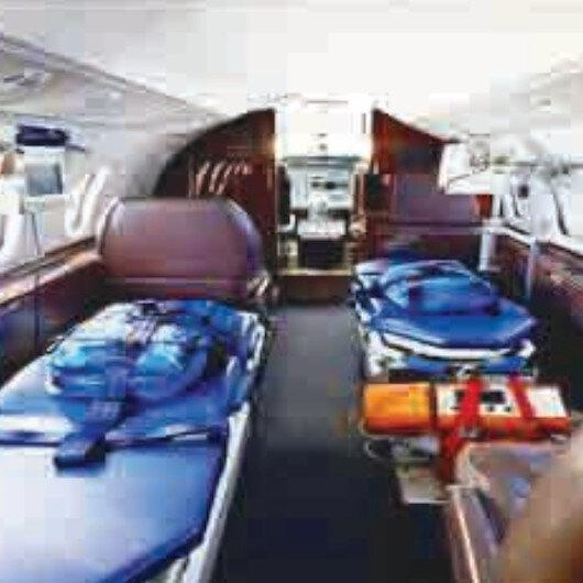 Göklerdeki gücümüz: Ambulans uçaklar