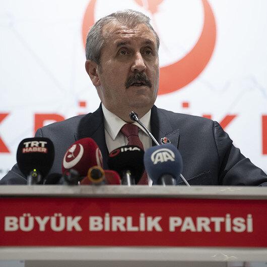 BBP Genel Başkanı Destici Millet İttifakına seslendi: Lafı eveleyip gevelemeyin HDP sizin ittifak ortağınız