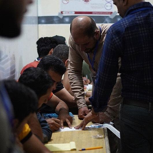 Sınırlar kapatıldı: Iraklılar sandık başında