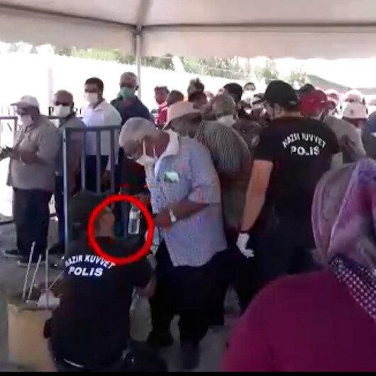 Adana Emniyet Müdürlüğünden CHPli Özkana görüntülerle yalanlama: İçeri alınmayan yiyecekler çıkışta vatandaşlara geri verildi