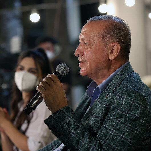 Cumhurbaşkanı Erdoğan Adanada gençlerle bir araya geldi: Bizimki TEKNOFEST kuşağı