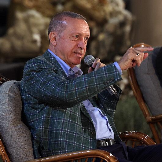 Cumhurbaşkanı Erdoğan basketbol maçının detaylarını anlatırken gülümsetti: Son zamanlarda fena değilim