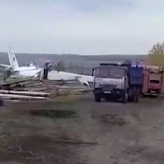 Rusyada uçak düştü: 16 ölü