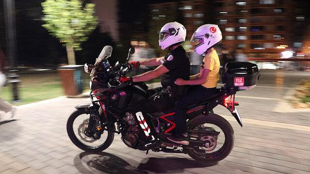 Siirt'te polisler çocukların motosiklete binme hayalini gerçekleştirdi