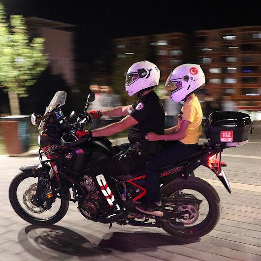 Siirtte polisler çocukların motosiklete binme hayalini gerçekleştirdi
