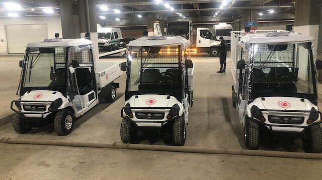 Yerli elektrikli mini kamyonetler Meclis'te
