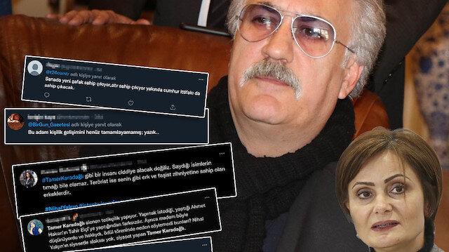 Tamer Karadağlı CHP'nin talimatıyla linç ediliyor: Hakaret üstüne hakaret yağdırdılar