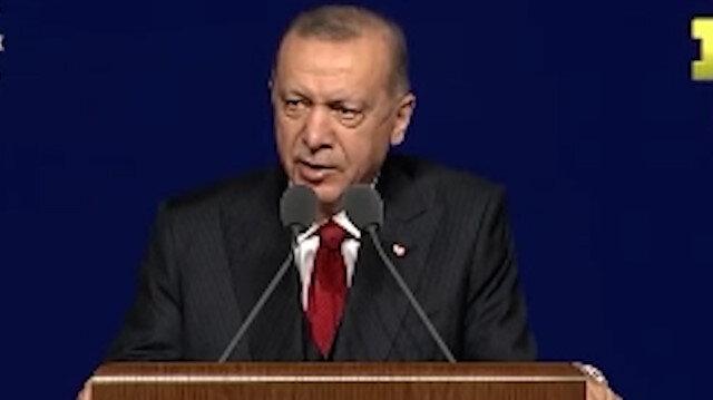 Cumhurbaşkanı Erdoğan'dan Kılıçdaroğlu'na: Biz öyle kuru kuruya söz vermeyiz yaparız