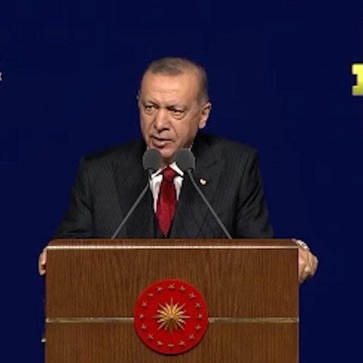 Cumhurbaşkanı Erdoğandan Kılıçdaroğluna: Biz öyle kuru kuruya söz vermeyiz yaparız
