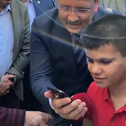 Cumhurbaşkanı Erdoğan Muştaki 'Kusursuz kulak' Bager ile görüştü