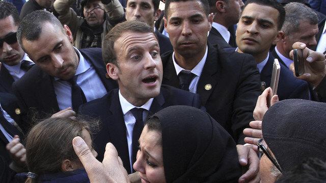 Macron'un sömürge çıkışı Cezayirlileri kızdırdı: 500 Fransız şirketle ilişkileri kesecekler