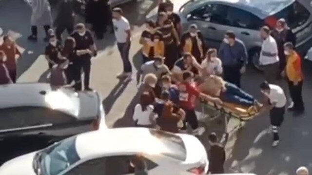 Ankara'da park yeri tartışmasında sürücü 1'i çocuk 2 kişiye çarpıp kaçtı
