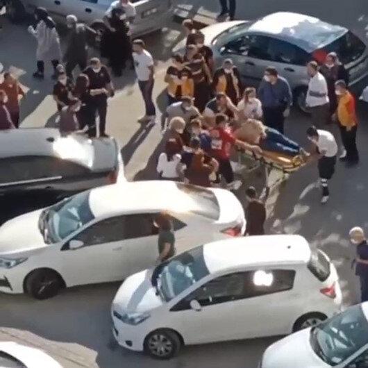 Ankarada park yeri tartışmasında sürücü 1i çocuk 2 kişiye çarpıp kaçtı
