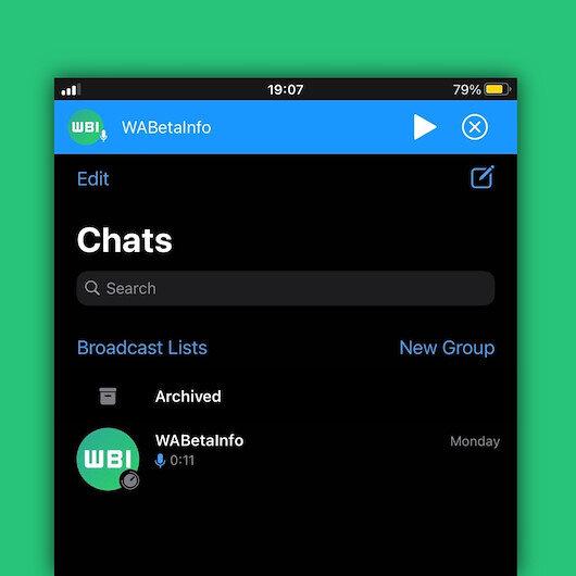 WhatsApp sesli mesajlara yeni özellikler getiriyor