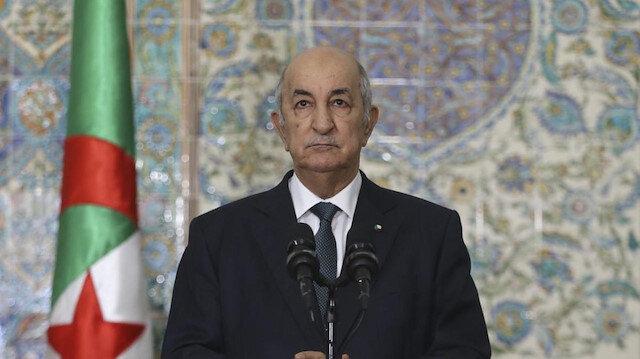 Cezayir Cumhurbaşkanı Abdulmecid Tebbun'dan Fransa'ya tepki: Verdiği rakamlar yalan