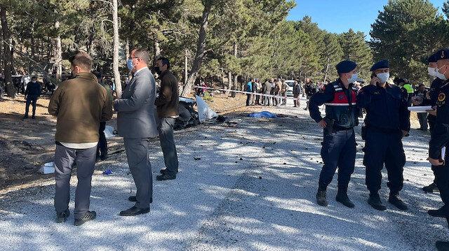 Afyonkarahisar'ın İscehisar ilçesinde öğrenci servisi devrildi: 5 öğrenci hayatını kaybetti