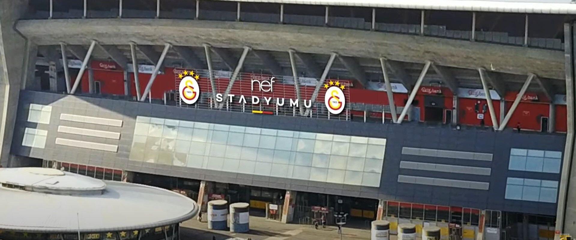 Galatasaray'ın stadının yeni ismi