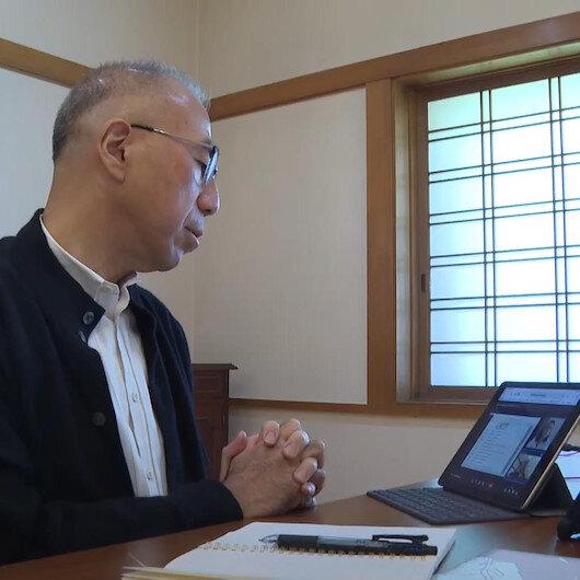 Japonyanın Ankara Büyükelçisi Suzuki Türkçe öğreniyor