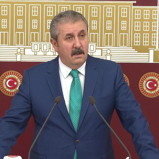 BBP Genel Başkanı Destici: Polisimizi ve askerlerimizi şehit eden PKKnın azmettiricisi ABDdir