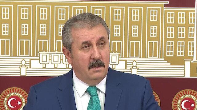 BBP Genel Başkanı Destici: Polisimizi ve askerlerimizi şehit eden PKK'nın azmettiricisi ABD'dir