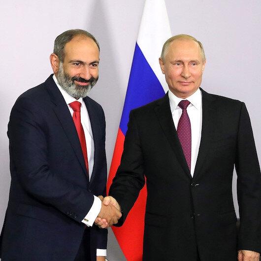Paşinyan 'Karabağ'da çözüm için' Putin'e koştu: Bütün konuları onunla ele alacağım