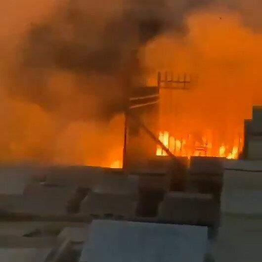 İşgalci İsrail Müslüman mezarlığını ateşe verdi