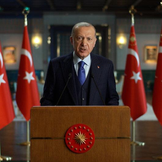 Cumhurbaşkanı Erdoğan: İklim krizine karşı herkes elini taşın altına koymalı