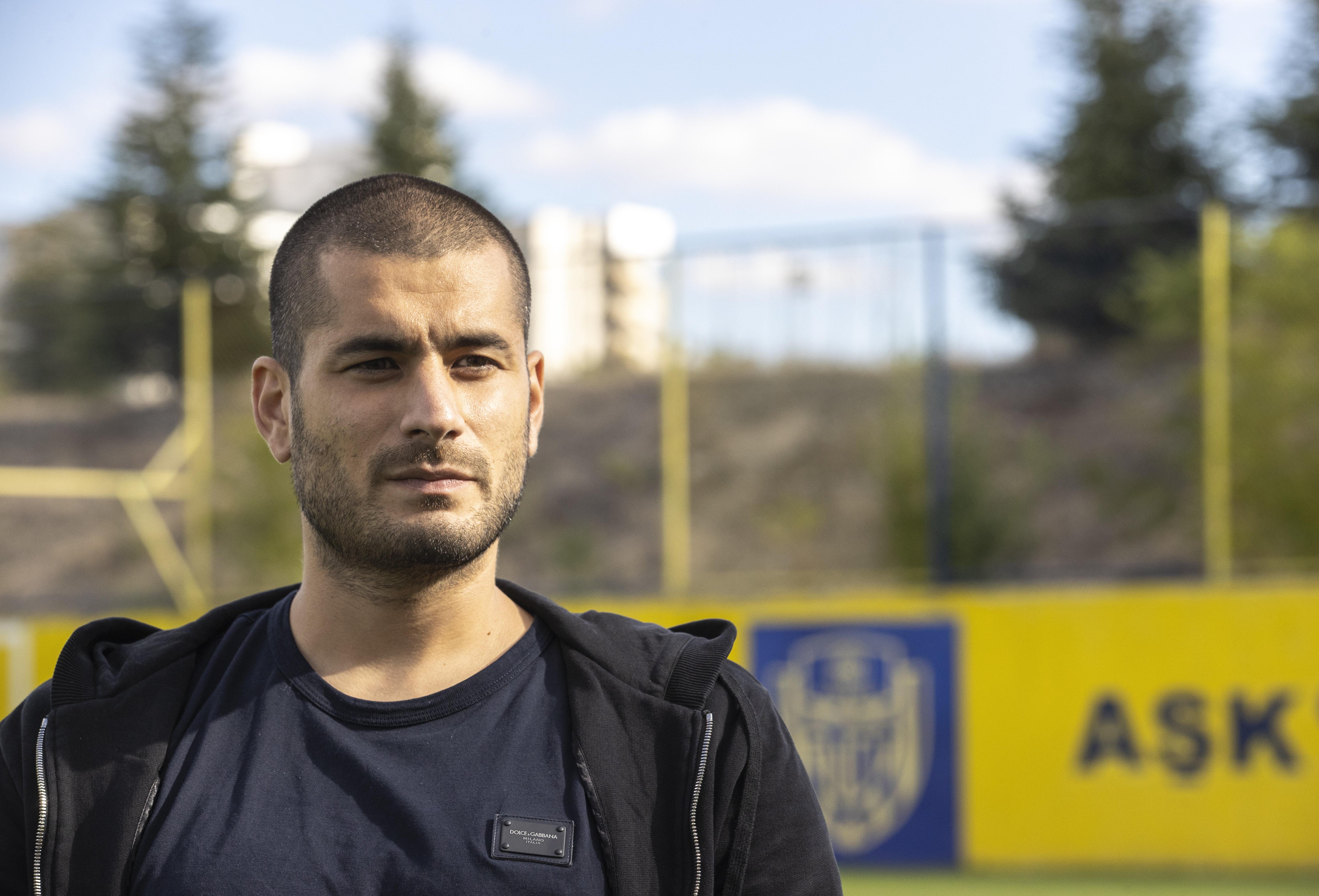 Eren Derdiyok kariyerini Ankaragücü'nde sürdürüyor.