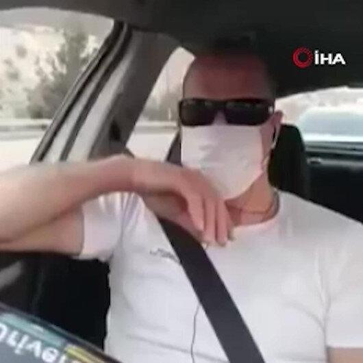 İşgalci İsrail güçleri Filistinli adamı aracında canlı yayın yaptığı esnada darp etti