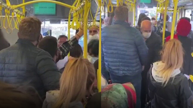 Ümraniye'de İETT şoförü psikolojim bozuldu dedi: Yolcuları indirmek istedi